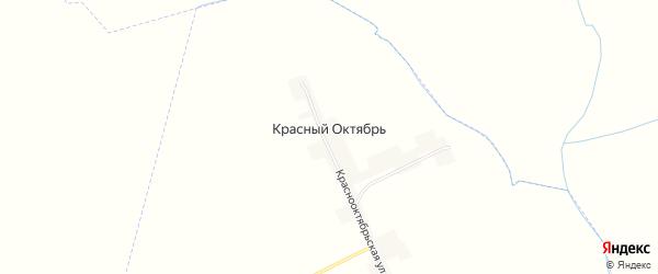Карта поселка Красного Октября в Брянской области с улицами и номерами домов