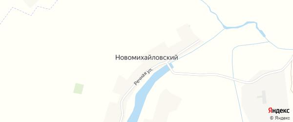 Михайловская улица на карте Михайловского поселка с номерами домов