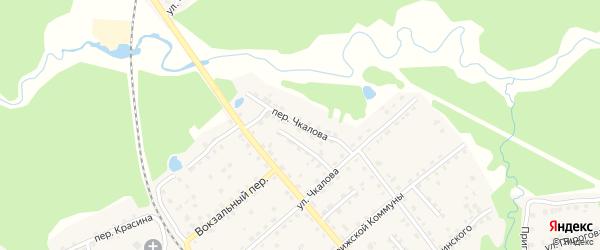 Переулок Чкалова на карте поселка Клетня с номерами домов