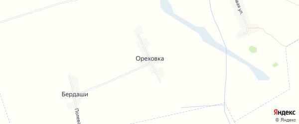 Карта поселка Ореховки в Брянской области с улицами и номерами домов