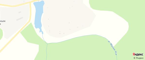 Советская улица на карте села Сергеевки с номерами домов