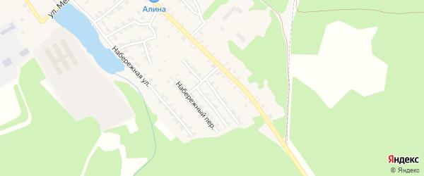Коммунистическая улица на карте поселка Клетня с номерами домов