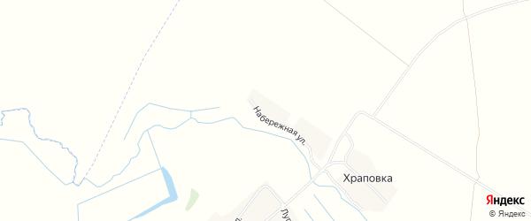 Карта деревни Храповки в Брянской области с улицами и номерами домов