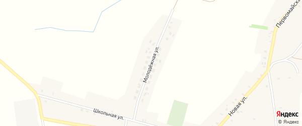 Молодежная улица на карте села Баклани с номерами домов