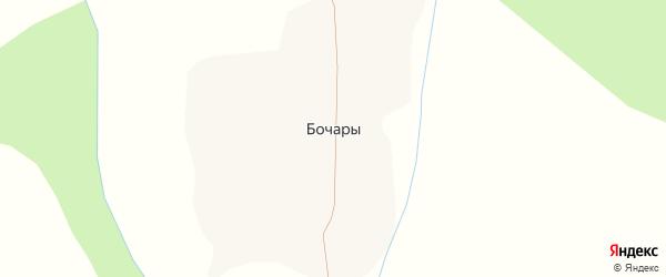 Партизанская улица на карте деревни Бочары с номерами домов