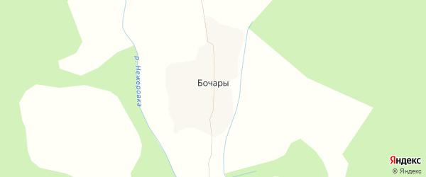 Карта деревни Бочары в Брянской области с улицами и номерами домов