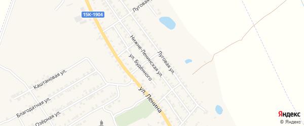 Нижне-Ленинская улица на карте поселка Погара с номерами домов