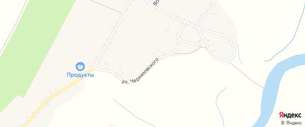 Улица Черняховского на карте деревни Чубарово с номерами домов
