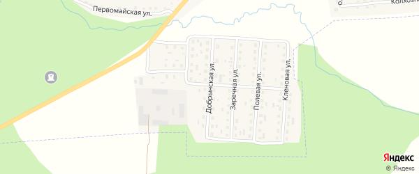 Добрынская улица на карте поселка Клетня с номерами домов