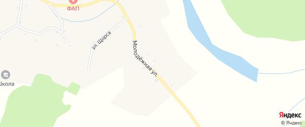 Молодежная улица на карте села Котляково с номерами домов