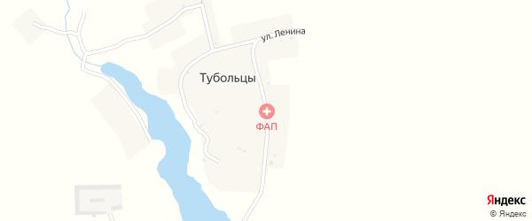 Улица Ленина на карте села Тубольцы с номерами домов