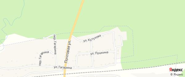 Улица Кутузова на карте поселка Клетня с номерами домов