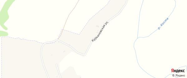 Курьяновская улица на карте села Старопочепья с номерами домов