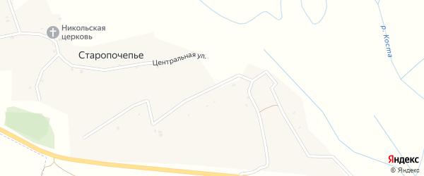 Слободская улица на карте села Старопочепья с номерами домов