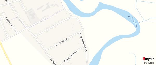 Набережная улица на карте села Курово с номерами домов