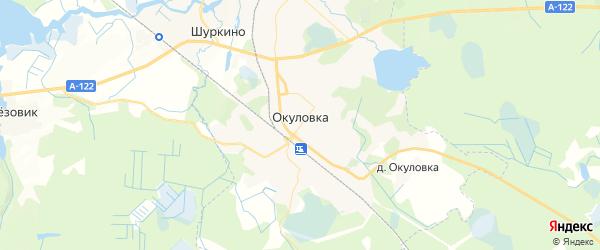 Карта Окуловки с районами, улицами и номерами домов