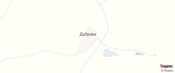 Первомайская улица на карте деревни Дубравы с номерами домов