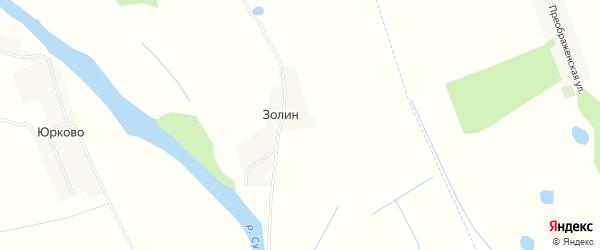 Карта поселка Золина в Брянской области с улицами и номерами домов
