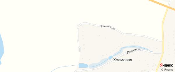 Улица Новоселов на карте Холмовой деревни с номерами домов
