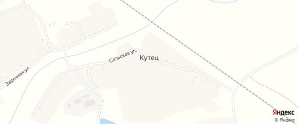 Центральная улица на карте деревни Большей Островни с номерами домов
