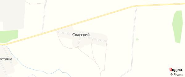 Карта Спасского поселка в Брянской области с улицами и номерами домов
