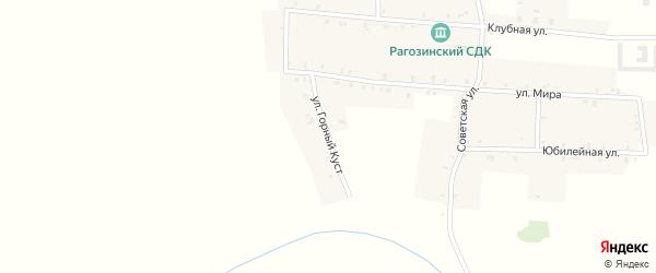 Улица Горный куст на карте деревни Верхней Злобинки с номерами домов