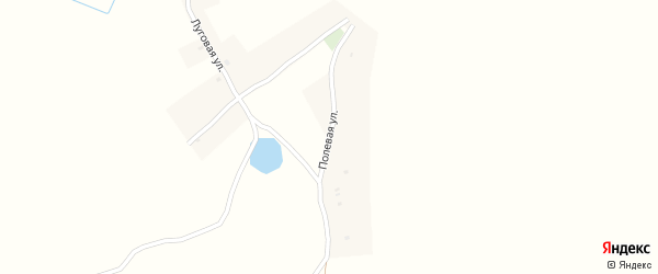 Полевая улица на карте села Березовки с номерами домов
