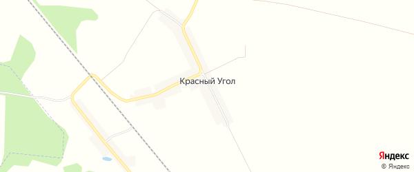 Карта поселка Красного Угла в Брянской области с улицами и номерами домов