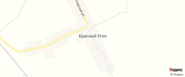 Пролетарская улица на карте поселка Красного Угла с номерами домов