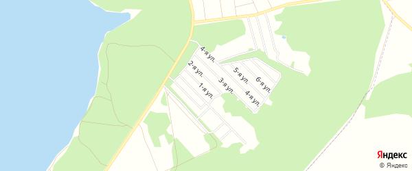 ГСК Ветеран на карте Смоленска с номерами домов