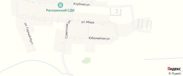 Юбилейная улица на карте деревни Верхней Злобинки с номерами домов