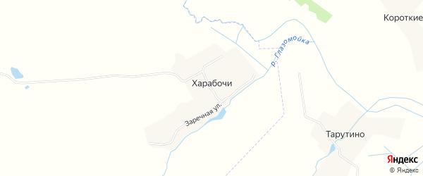 Карта деревни Харабочи в Брянской области с улицами и номерами домов