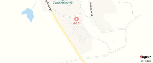 Молодежная улица на карте села Третьяки с номерами домов