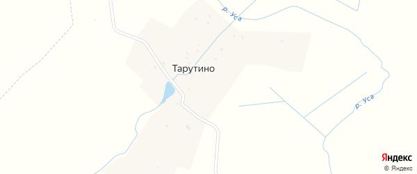 Пионерская улица на карте деревни Тарутино с номерами домов