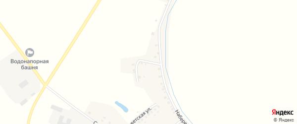Набережный переулок на карте села Витемли с номерами домов