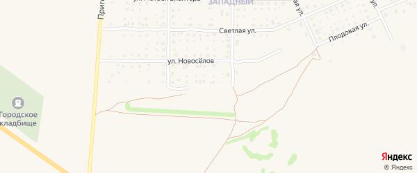Летняя улица на карте Почепа с номерами домов