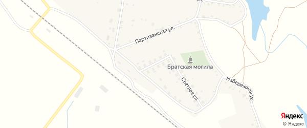 Молодежная улица на карте села Витемли с номерами домов