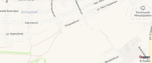 Новая улица на карте Почепа с номерами домов
