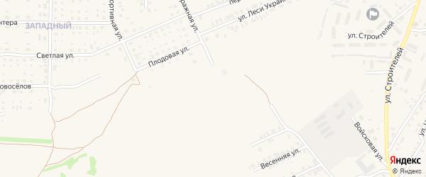 Злынковская улица на карте Почепа с номерами домов