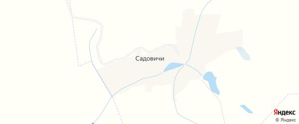 Карта деревни Садовичи в Брянской области с улицами и номерами домов