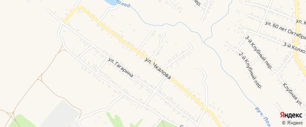 Улица Чкалова на карте Почепа с номерами домов