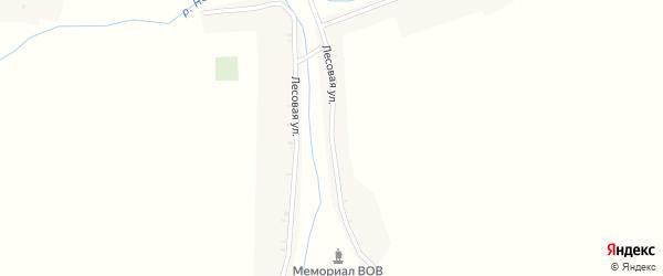 Лесовая улица на карте деревни Карбовки с номерами домов