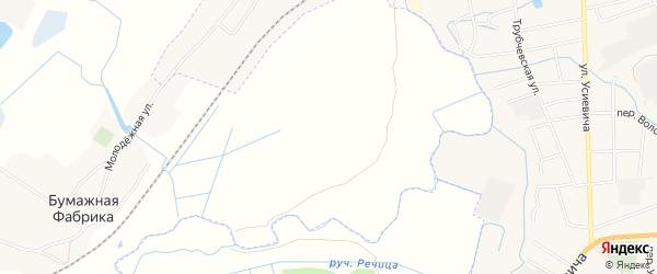 Карта поселка Вершаня в Брянской области с улицами и номерами домов