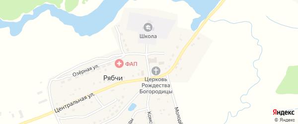 Территория Паи Маяк на карте территории Рябчинского сельского поселения с номерами домов