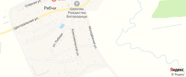 Молодежная улица на карте села Рябчи с номерами домов