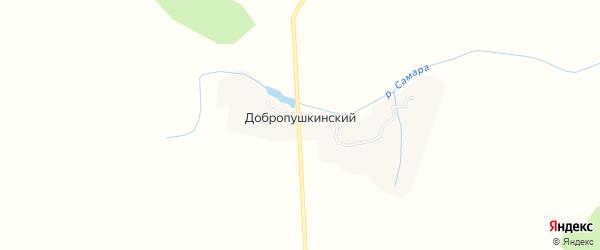 Карта Добропушкинского поселка в Брянской области с улицами и номерами домов