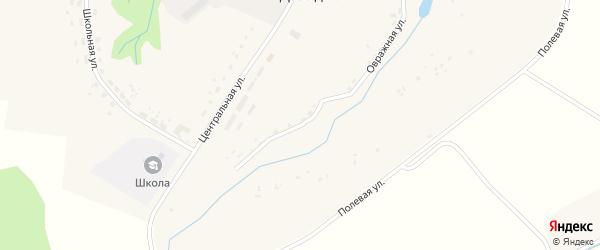 Овражная улица на карте деревни Давыдчичи с номерами домов