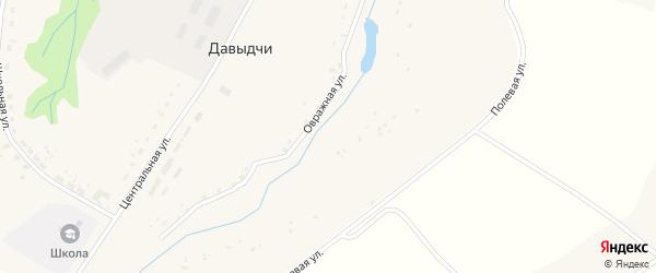 Полевая улица на карте деревни Давыдчичи с номерами домов