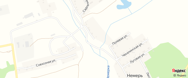 Улица Ивана Трофимова на карте деревни Немери с номерами домов