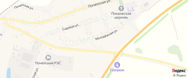 Молодежная улица на карте села Витовки с номерами домов